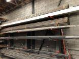 Lot 20 - Assorted aluminum& Steel Misc stock & Pipe