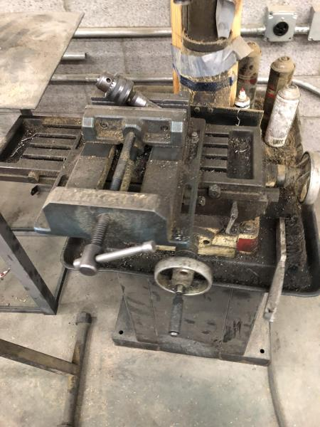 Lot 24 - Jet Milling drilling machine, M: JMD-15, Stock Nomber 350017, SN: 4081109, with Polmgren Machine