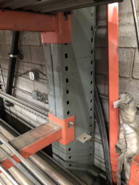 Lot 21 - 16' Heavy duty stock rack, 4 tier (Rack Only)