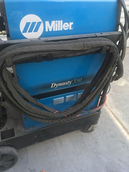 Lot 31b - Welder: Miller Dynasty 350 Welder, SN: LH140311L