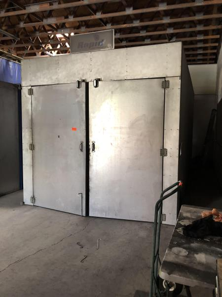 Lot 53 - Rapid Engineering Batch Oven M: 8820, SN: 142086, 208V, 3 Phase, 60 cycle