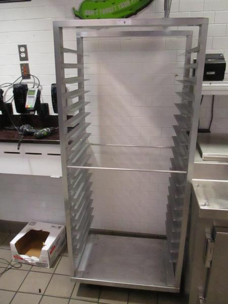 Lot 12 - Aluminum Sheet Pan Rack