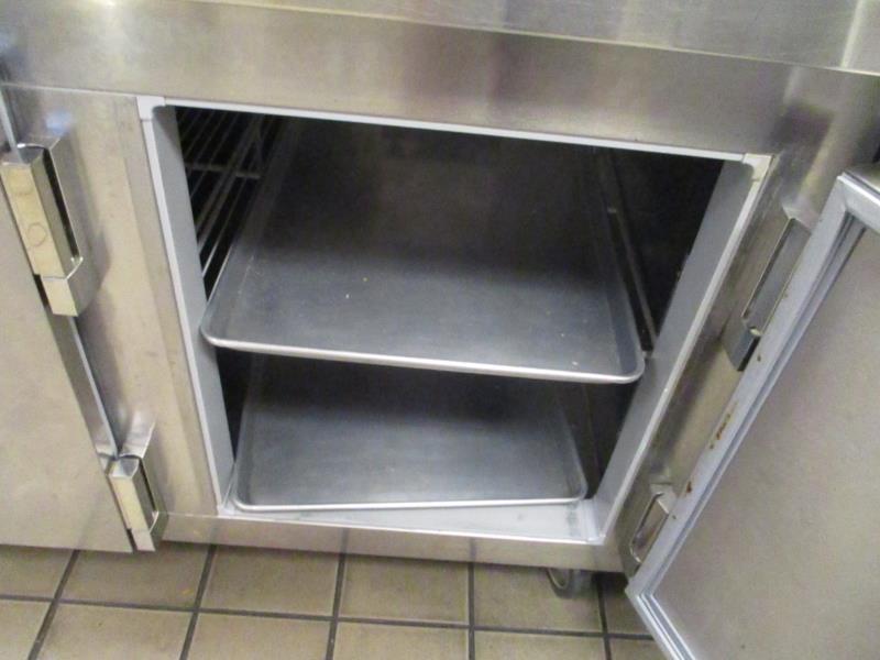 Lot 13 - Sandwich Prep Units by Kairak, Model: KBP-91S, SN: K61098C14