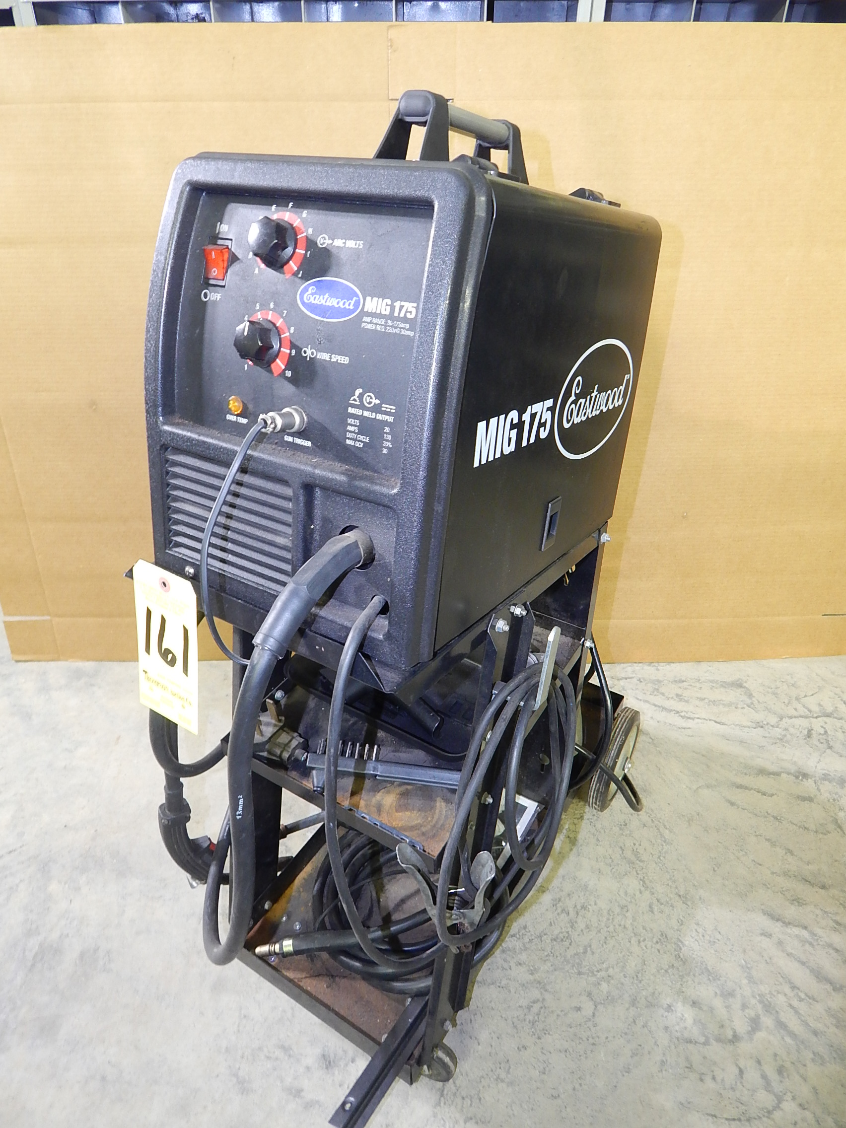 Eastwood MIG 175 Mig Welder, SN 122471406022, with Aluminum Wire ...