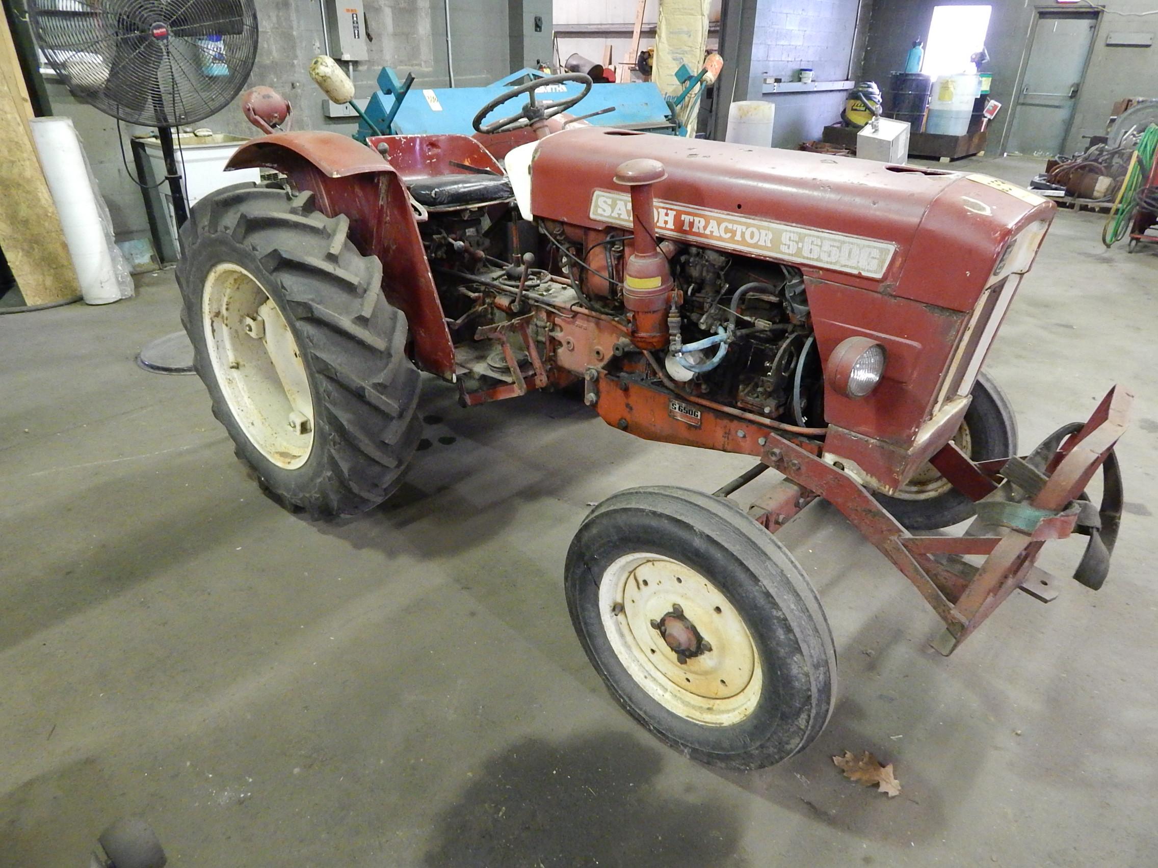 satoh tractor 4 cylinder engine diagram satoh model s-650g tractor, 4 cylinder gas engine, 2 wd ...