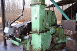 """Lot 75 - MORBARK 58"""" 6 KNIFE CHIPPER W/ HORIZONTAL FEED TOP DISCHARGE W/ 125HP MOTOR W/ PARTS SN#348"""