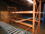 Lot 45 - 8' SECTION PALLET RACKING