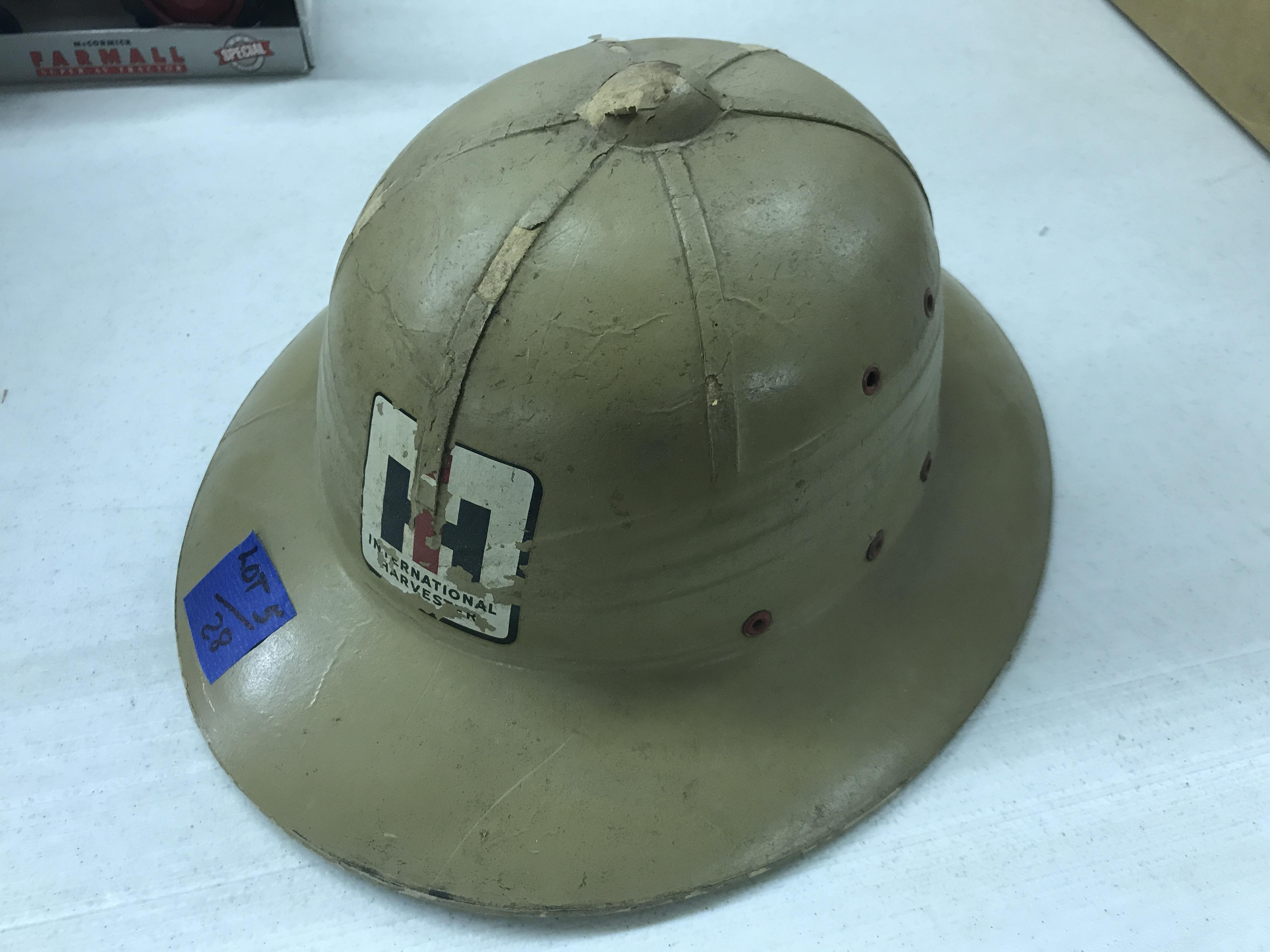 Lot 28 - I-H Pith Helmet