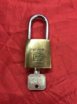 Lot 7 - Fort Wayne I-H Plant Pad Lock w/Key