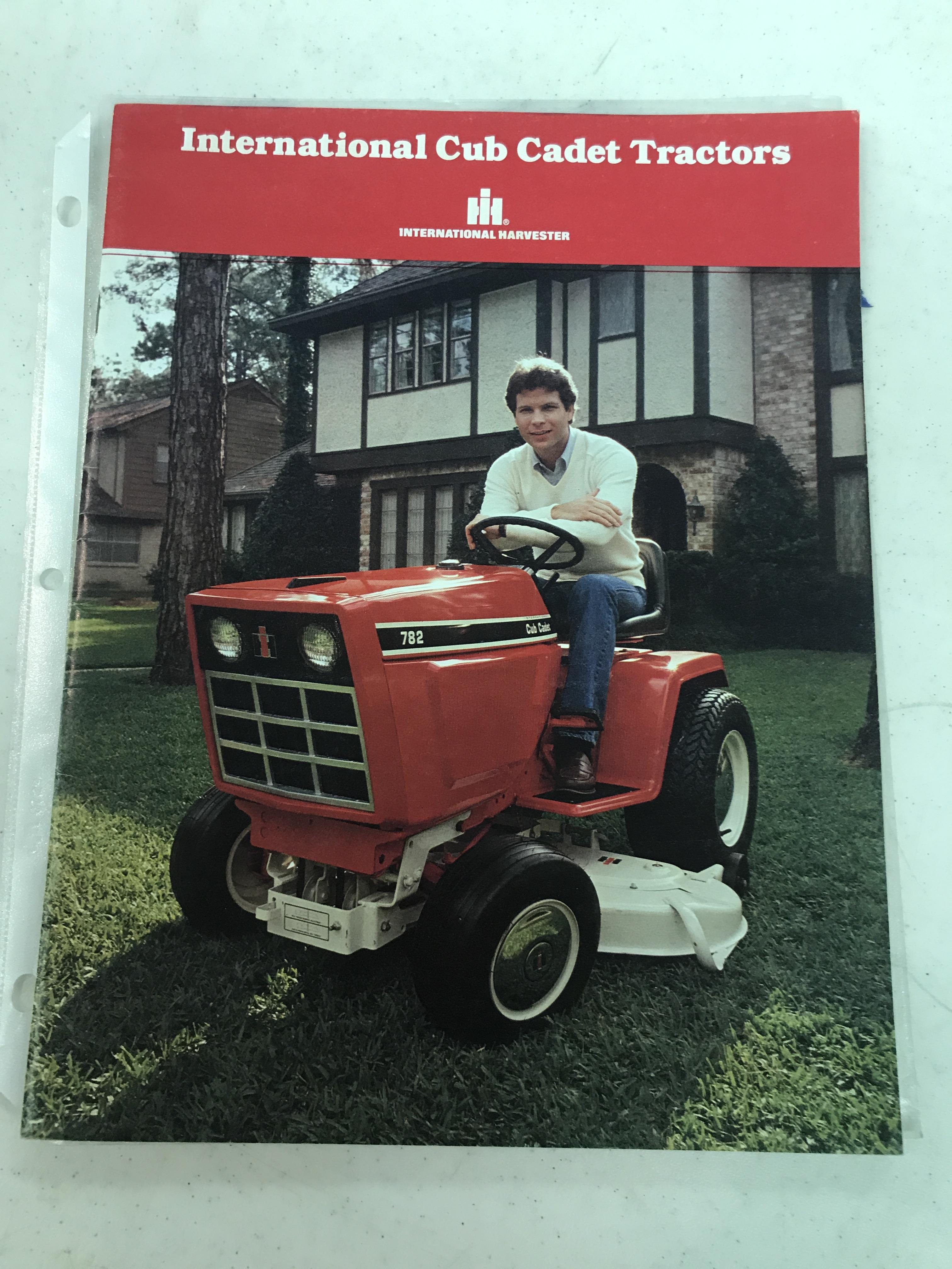 Lot 44 - Cub Cadet Lawn & Tractor Booklet