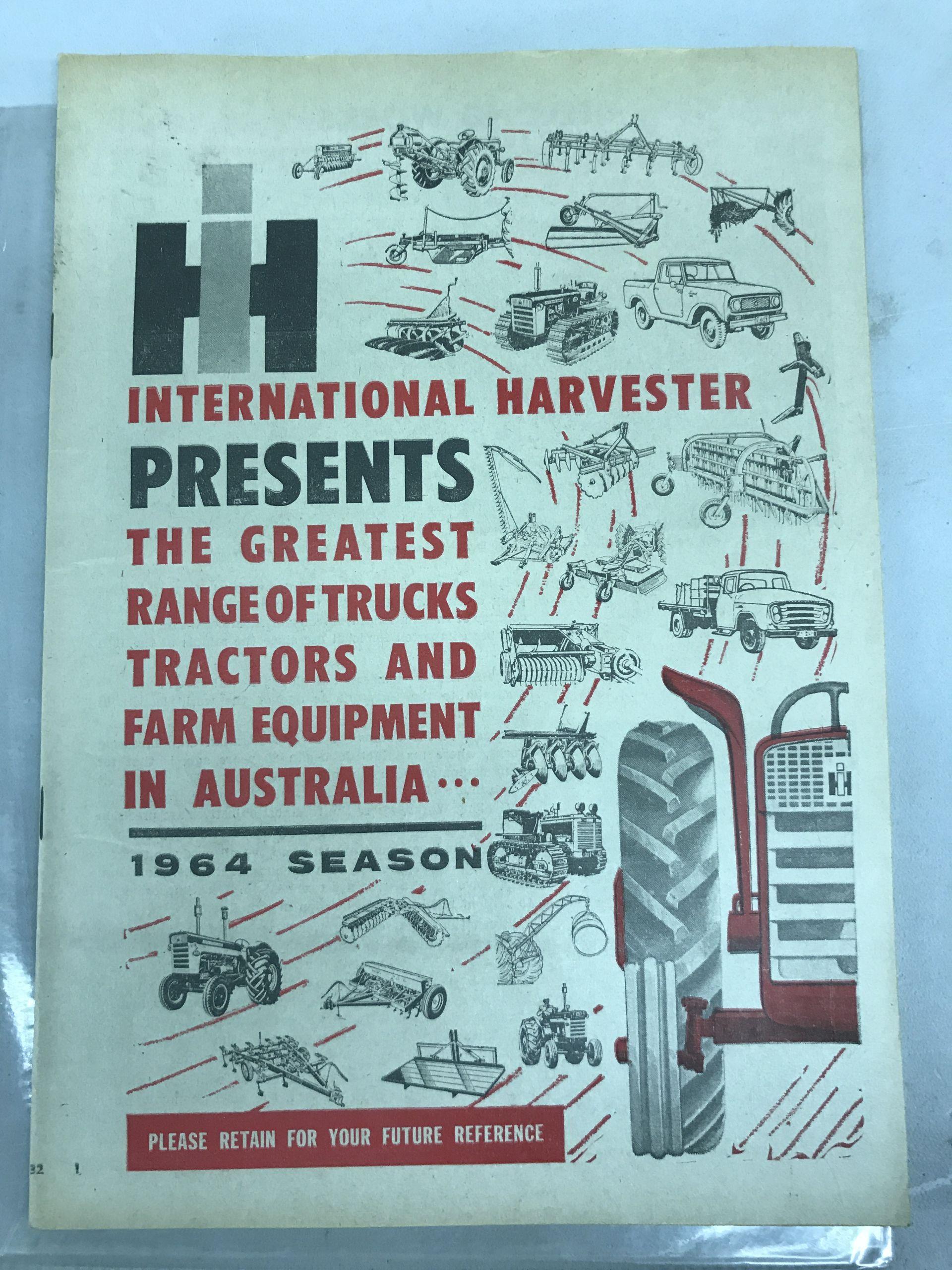 Lot 48 - Australia 1964 Season Brochure