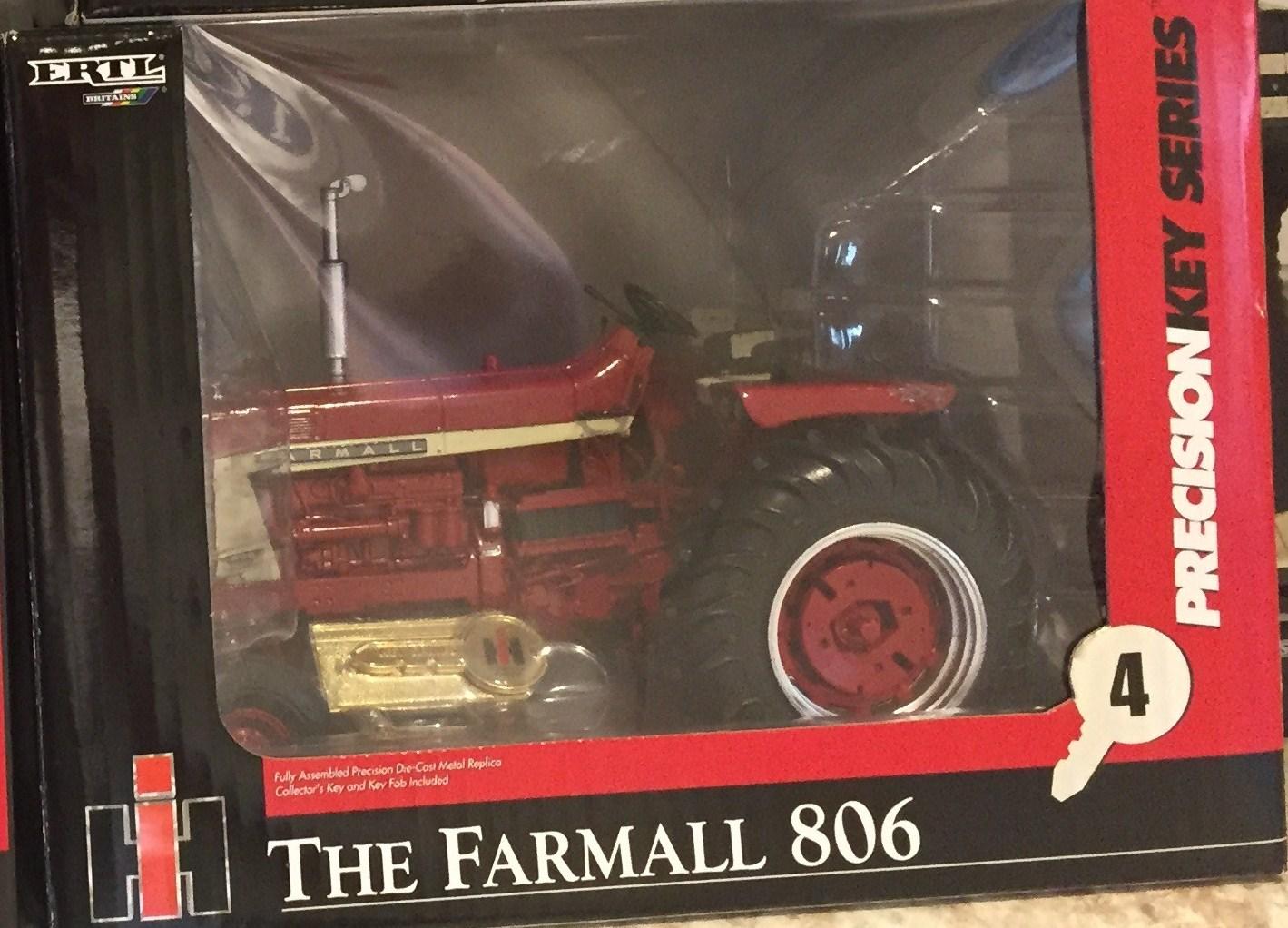 Lot 52 - I-H 806 Precision Key Series #4 NIB