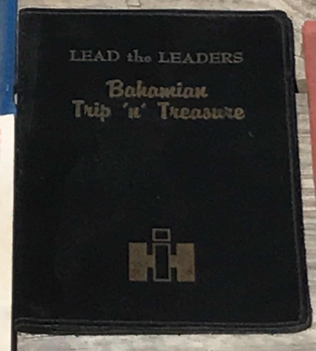 Lot 3 - Bahamian Trip-n-Treasure Ticket Holder