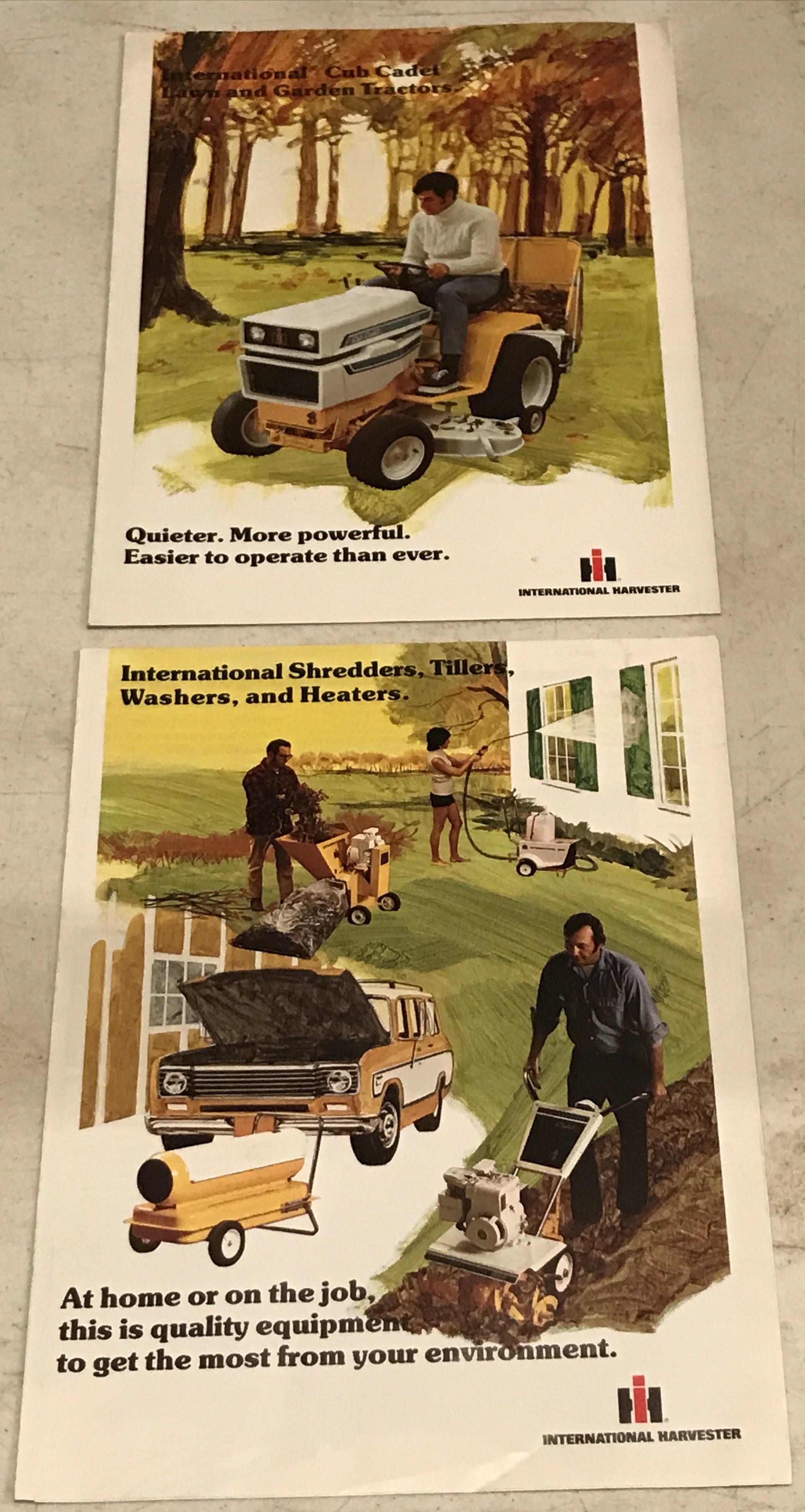 Lot 10 - Tiller & Garden Tractor Pamphlets