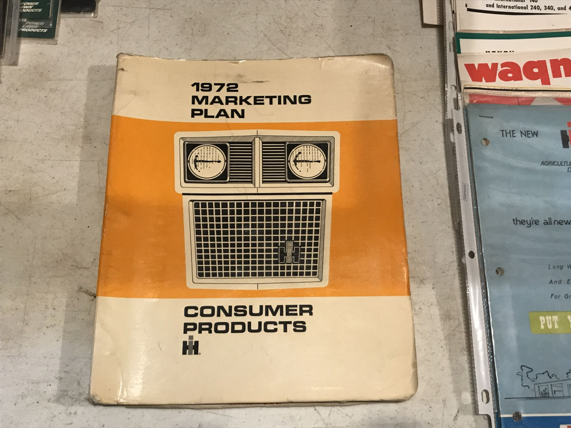 Lot 22 - 1972 Marketing Plan Consumer Products Book