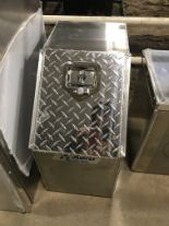Lot 1F - Aluiminum Truck Tool Box (new)