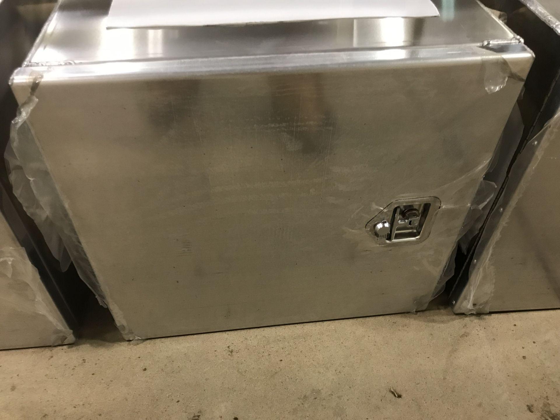 Lot 1B - Aluiminum Truck Tool Box (new)