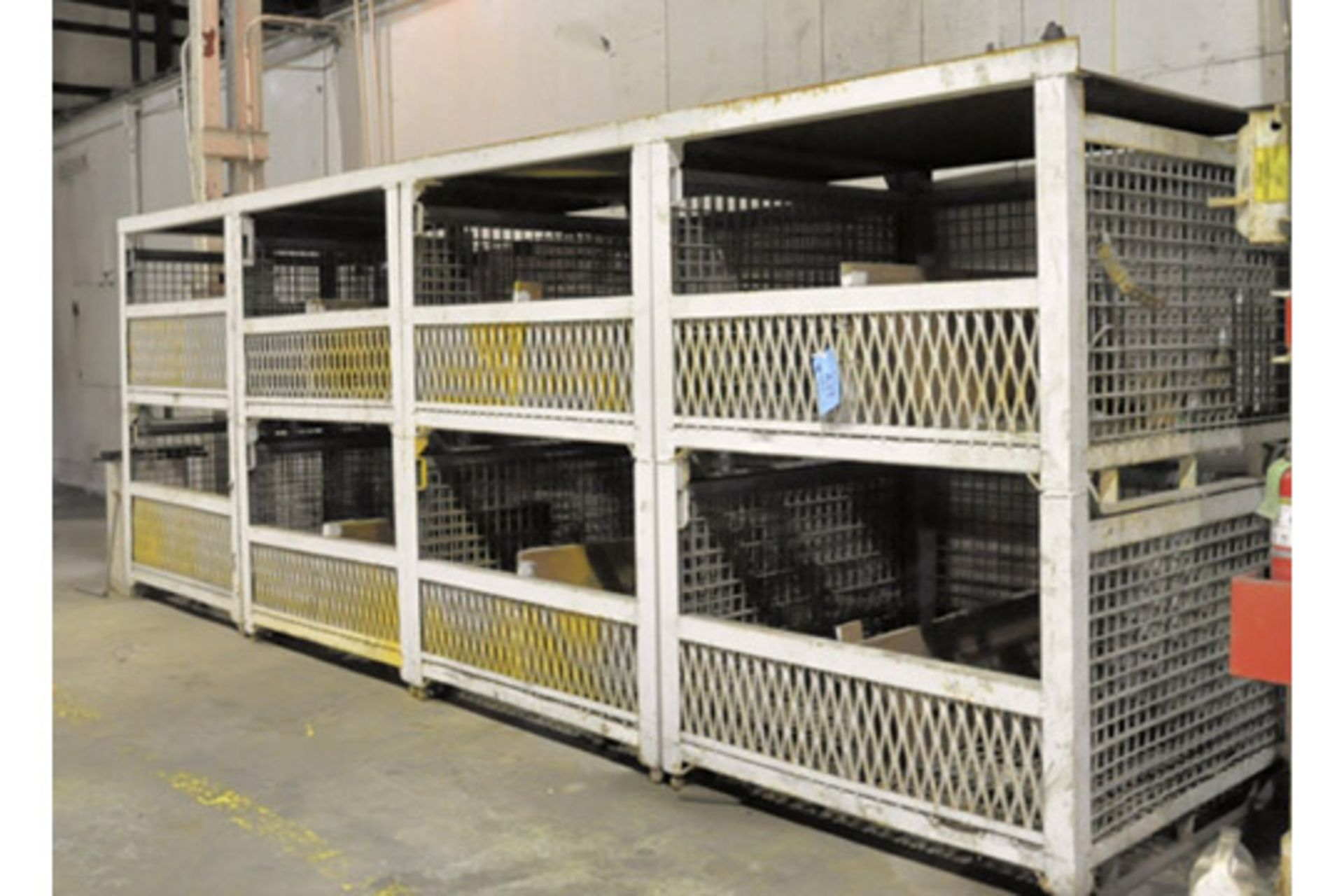 Lot-(8) Empty Wire Baskets