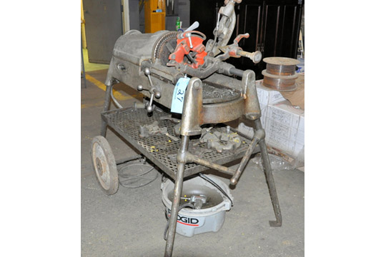 Lot 27 - RIDGID MODEL 535 Portable Pipe Threader, S/n 310038, with Die
