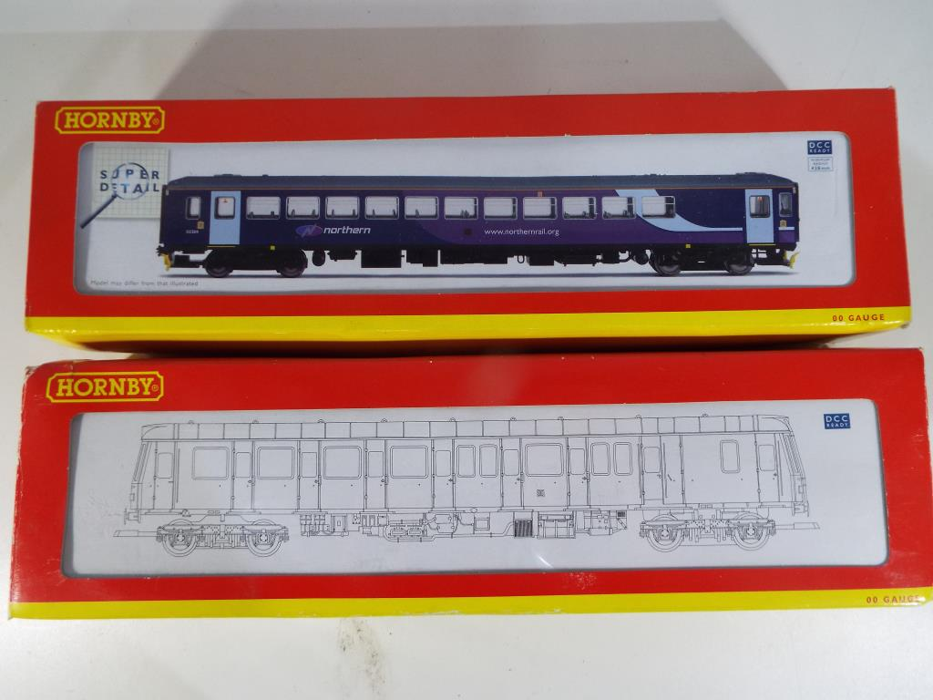Lot 45 - Model Railways - two Hornby OO gauge DMU's in original boxes comprising R2757 Northern Rail class