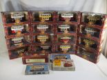 Lot 9 - Corgi and Keil Kraft - seventeen boxed diecast vehicles and three plastic model kits (kits