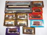 Lot 32 - Model Railways - ten wagons in original boxes from Mainline, Hornby,