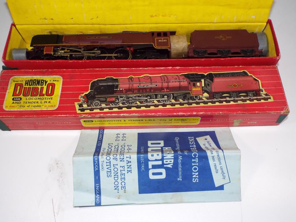 Lot 47 - Model Railways - a boxed Hornby Dublo OO gauge LMR steam locomotive,