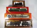 Lot 59 - Model Railways - four OO gauge steam locomotive in original boxes by Hornby and Main Line (Main