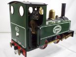 Lot 14 - Mamod - live steam locomotive in green, unboxed, appears to have seen little use,