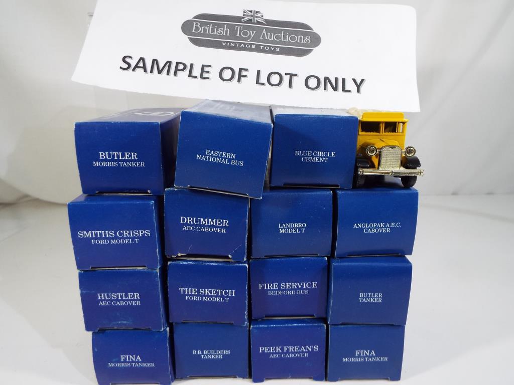 Lot 21 - Corgi and Ledo - twenty diecast vehicles in original boxes comprising five Persil vintage