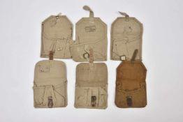 Portes grenades Lot de 5 portes grenades F-1 à 3 compartiments. Neuf. Cette pièce provient de la