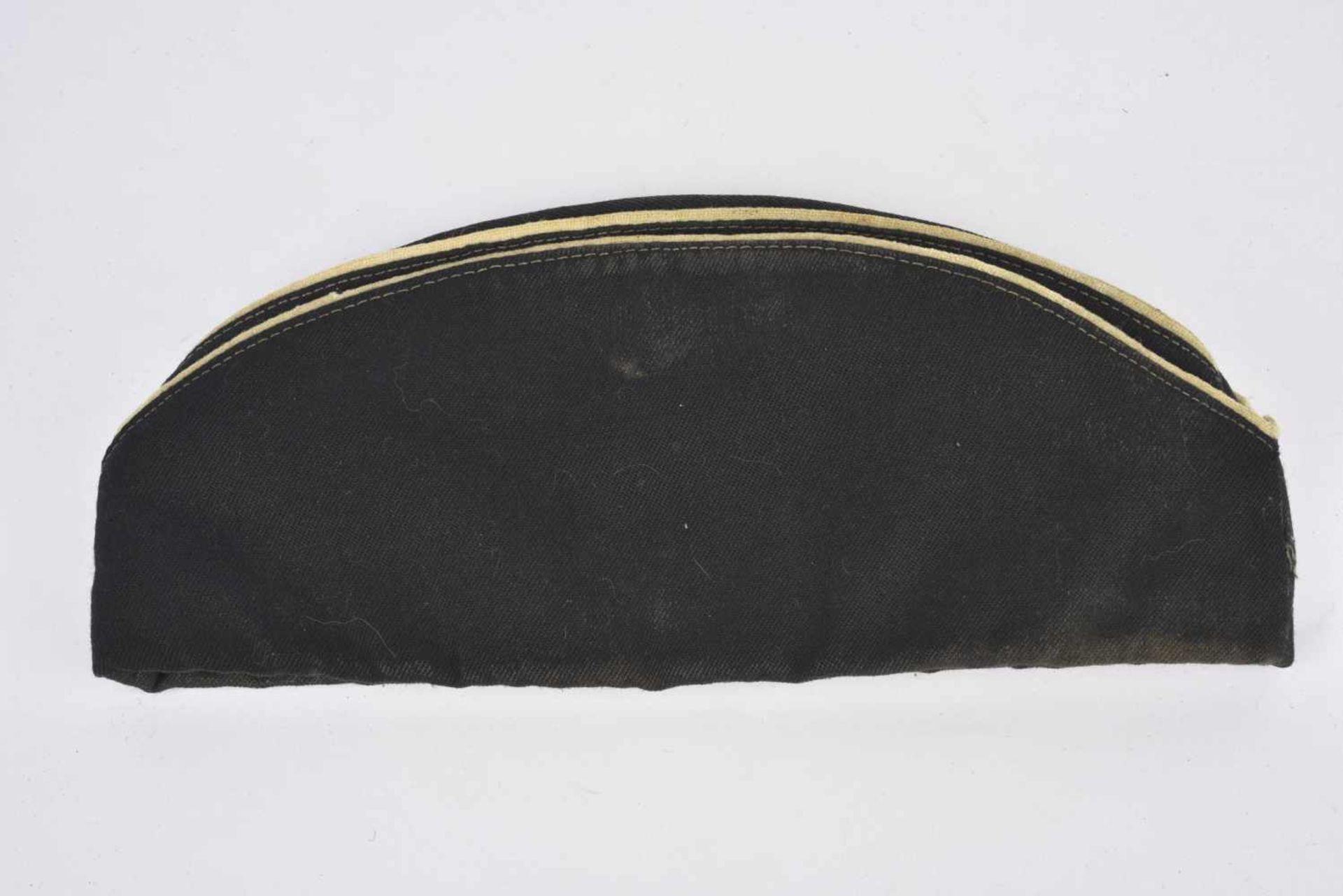 Calot en coton pour officier de la marine Exemplaire porté. Bonne taille. Sansattributs. Pilotka for - Bild 4 aus 4