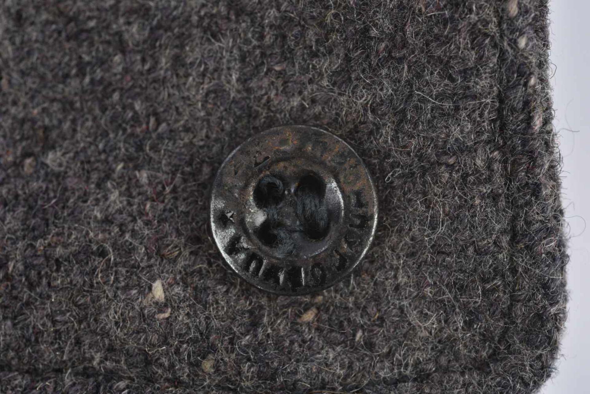 Budyonovka, M.27 pour l'artillerie ou les troupes blindées Complète avec étoile en tissu noire, - Bild 4 aus 4