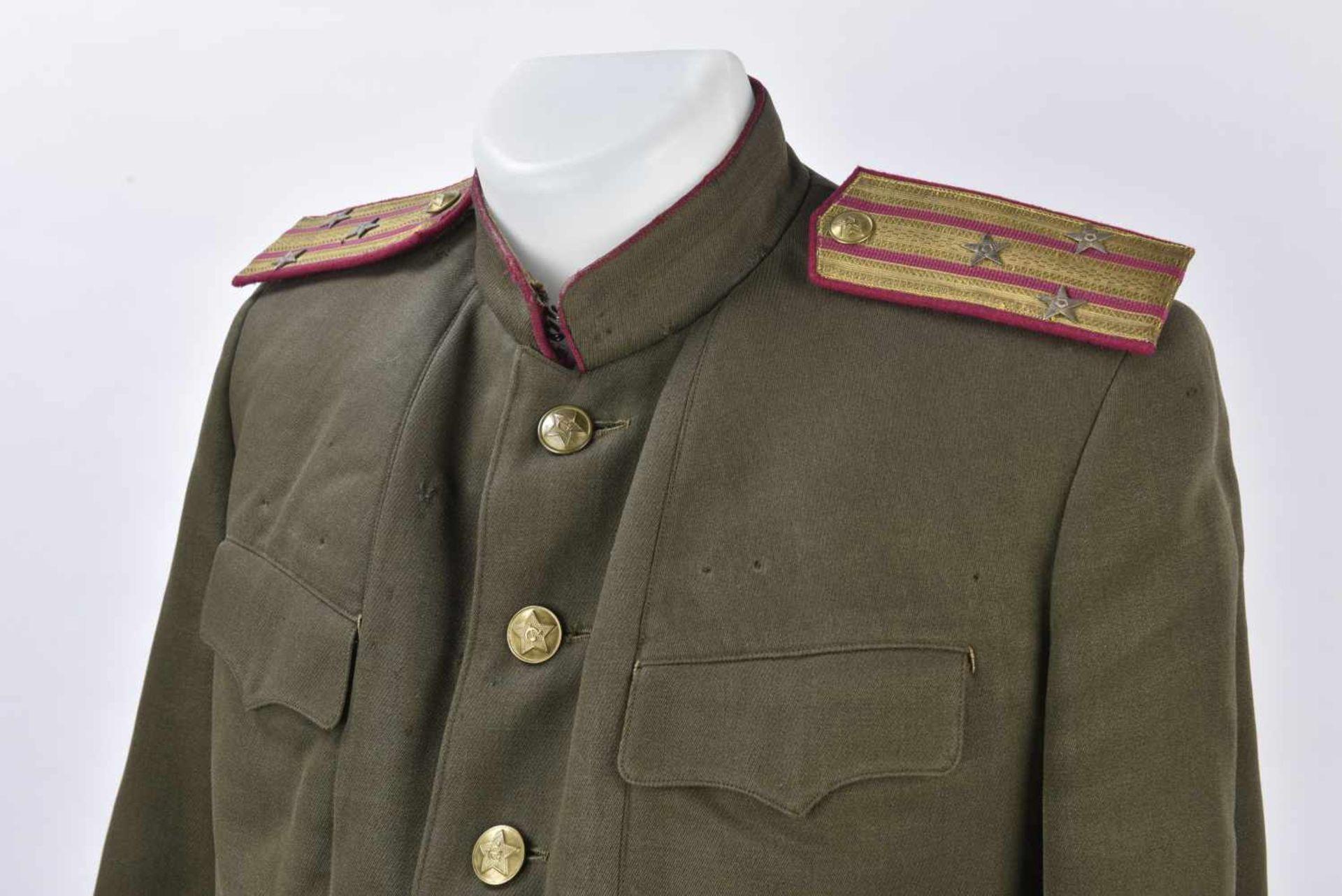 Ensemble comprenant Kittel d'un Polkovnik de l'infanterie Complet, pattes d'épaules parade et - Bild 2 aus 4