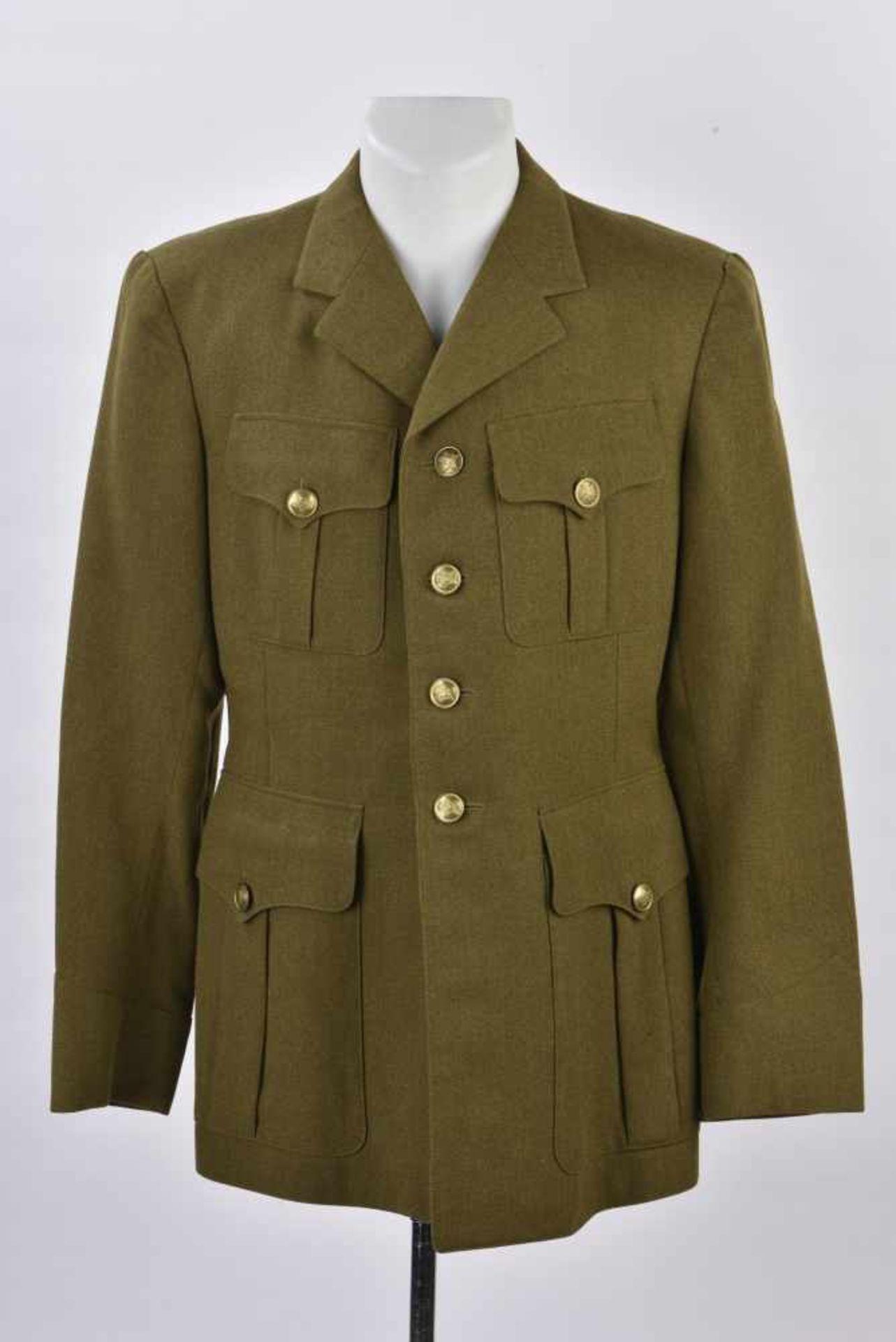Vareuse French M.25 sans attributs. Bonne taille, complète et en TBE. French' jacket M.25, without