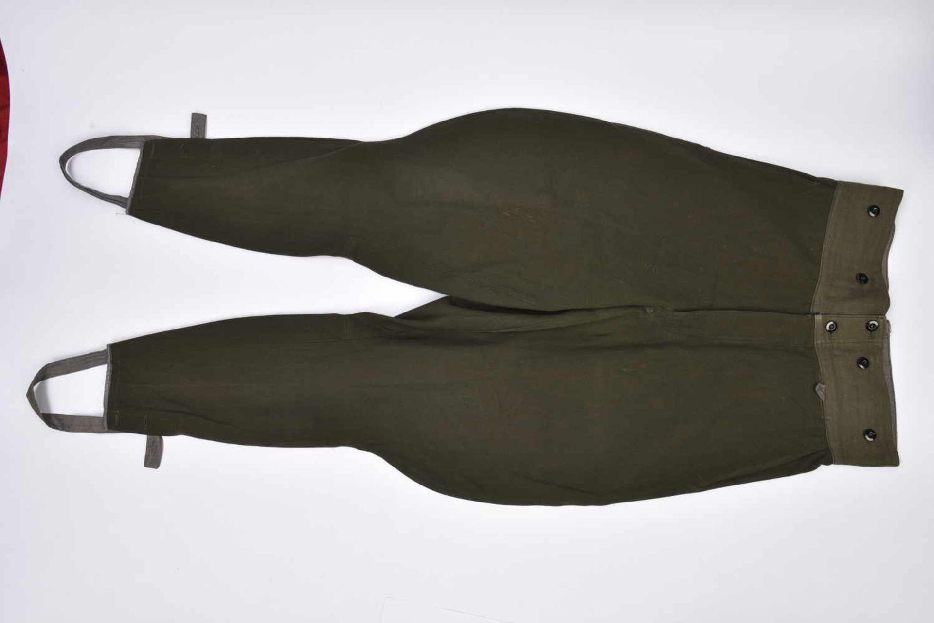 Ensemble NEUF comprenant Gymnasterka M.43 avec poches de poitrine,très belle et culotte. Les deux - Bild 4 aus 4