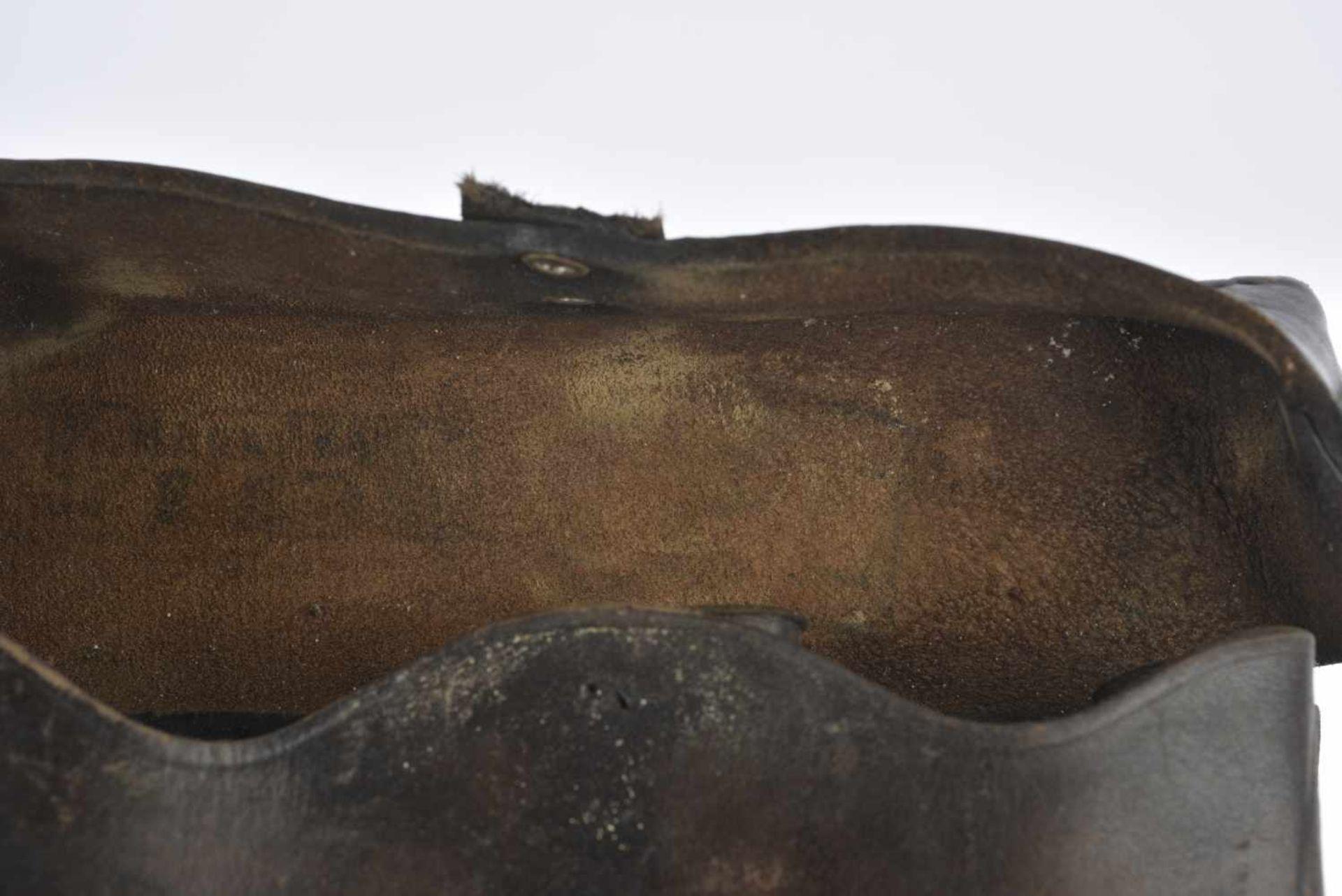 Paire de cartouchière précoce pour fusil SVT.38 Homogène, une languette décousue sur une, mais - Bild 4 aus 4