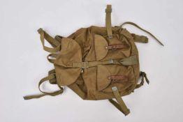 Sac à dos M.41 complet avec toutes ses sangles intégrées. NEUF. Un des sac à dos de l'Armée Rouge le