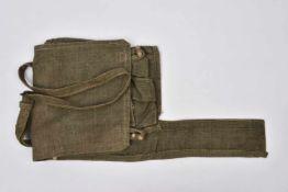 Sac de toile WW2 pour kit de mitraillette DSHK Etat neuf Pas de marquage. Cette pièce provient de la