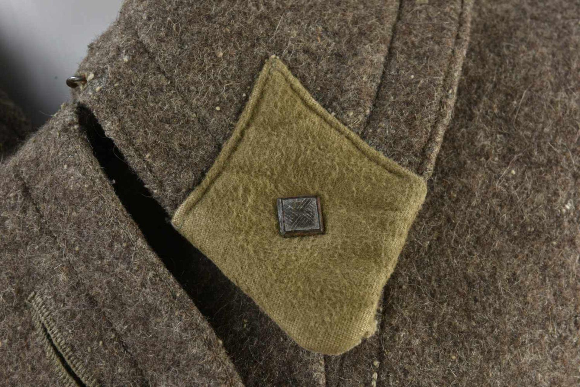 Capote Shinel'M.35 officier avec pattes de col combat d'un Lieutenant (régulation de août 41) - Bild 4 aus 4