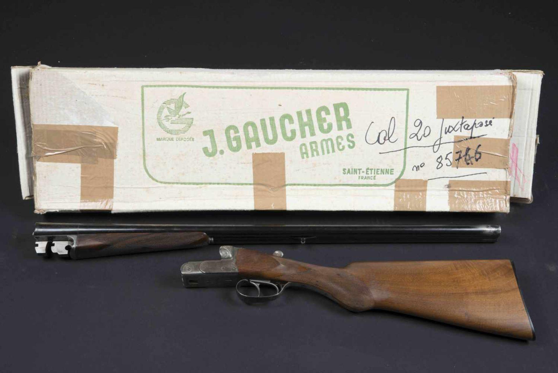 Fusil de chasse juxtaposé Robust Catégorie C Calibre 16/70, numéro 745236. En carton, jamais