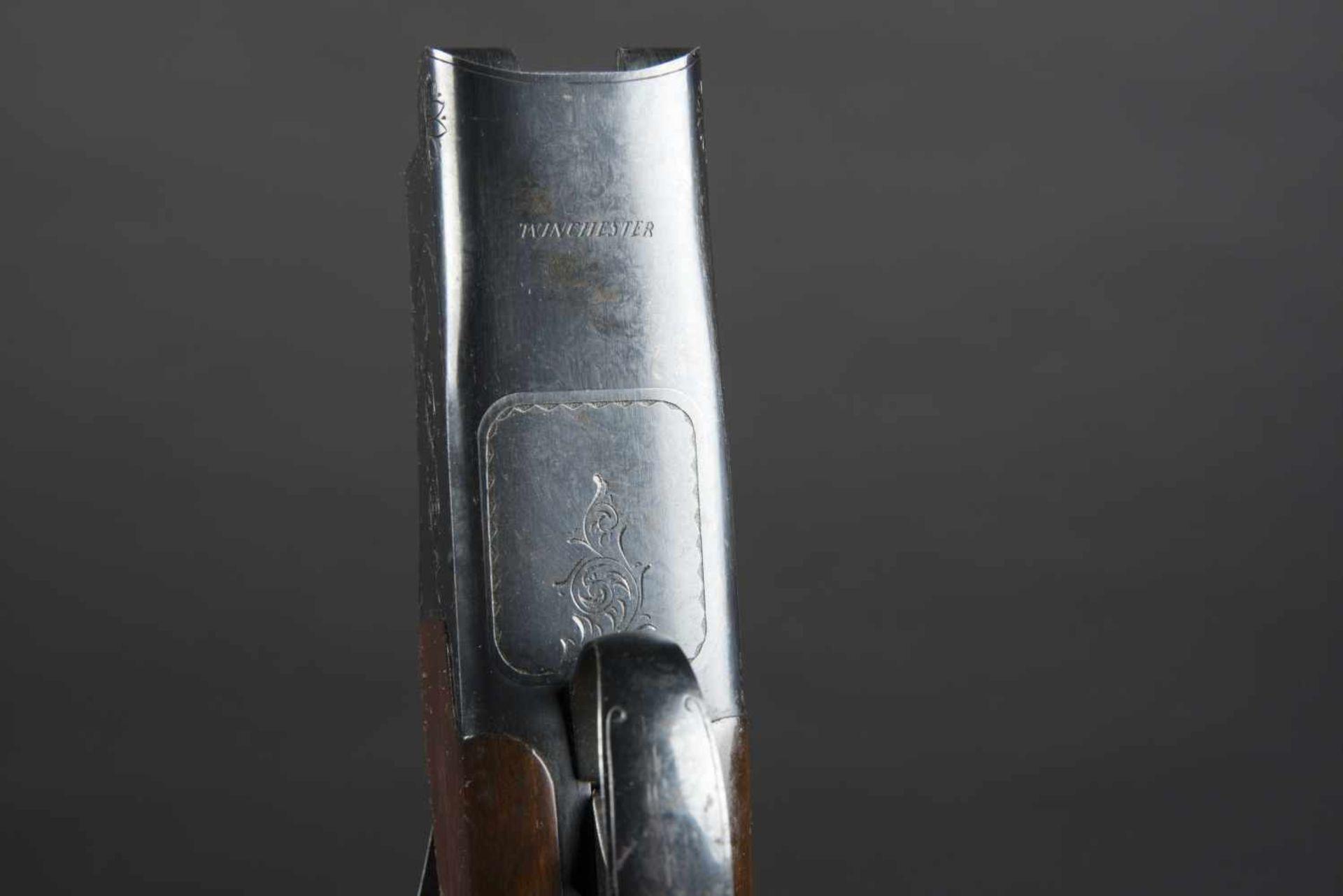 Fusil superposé Winchester Mod 40, catégorie C Calibre 12/70, numéro 391616. Certificat du Banc d' - Bild 4 aus 4