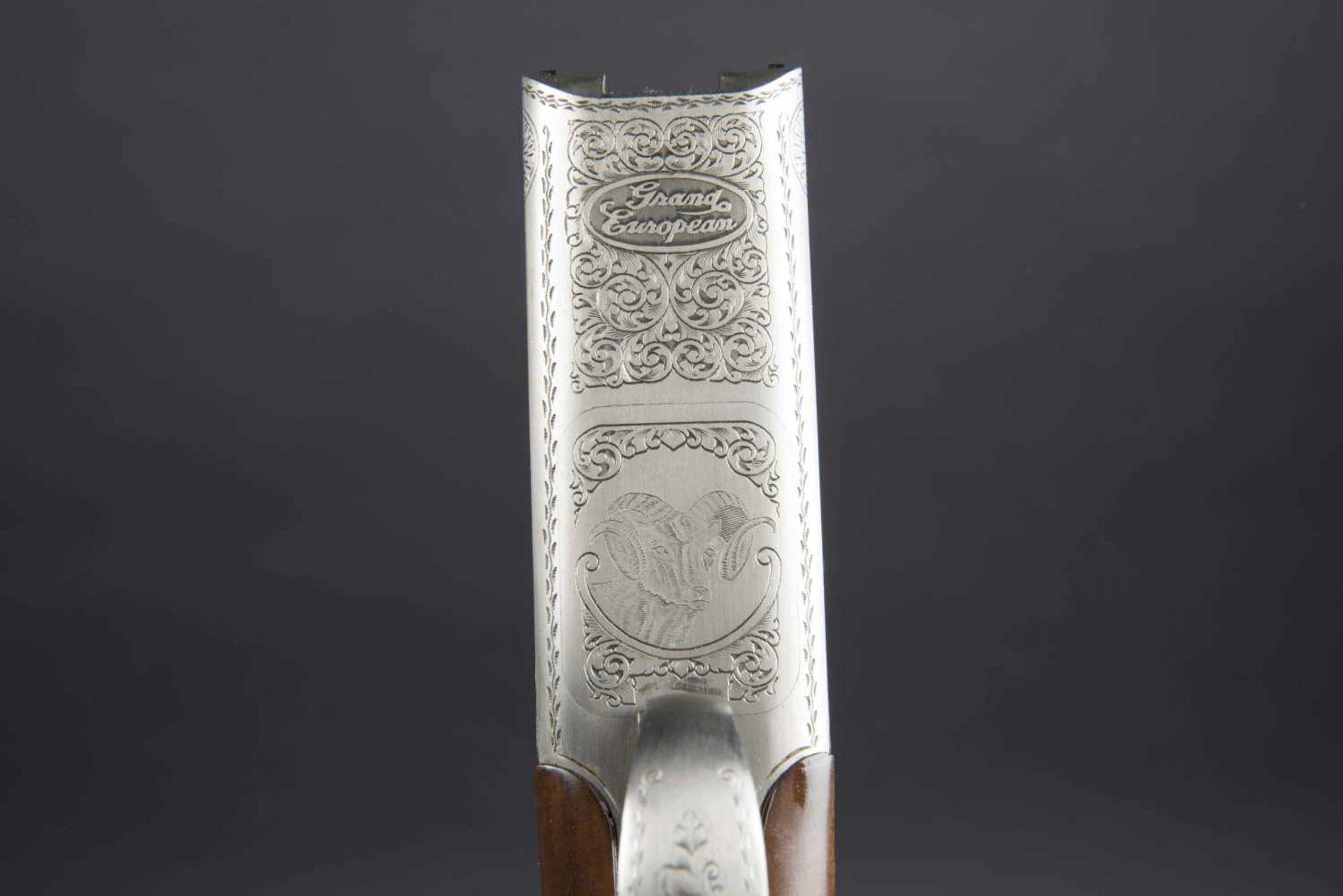 Winchester Catégorie C Grand European XT 9,3x74R/9,3x74R. Parties métalliques ciselées, avec - Bild 4 aus 4