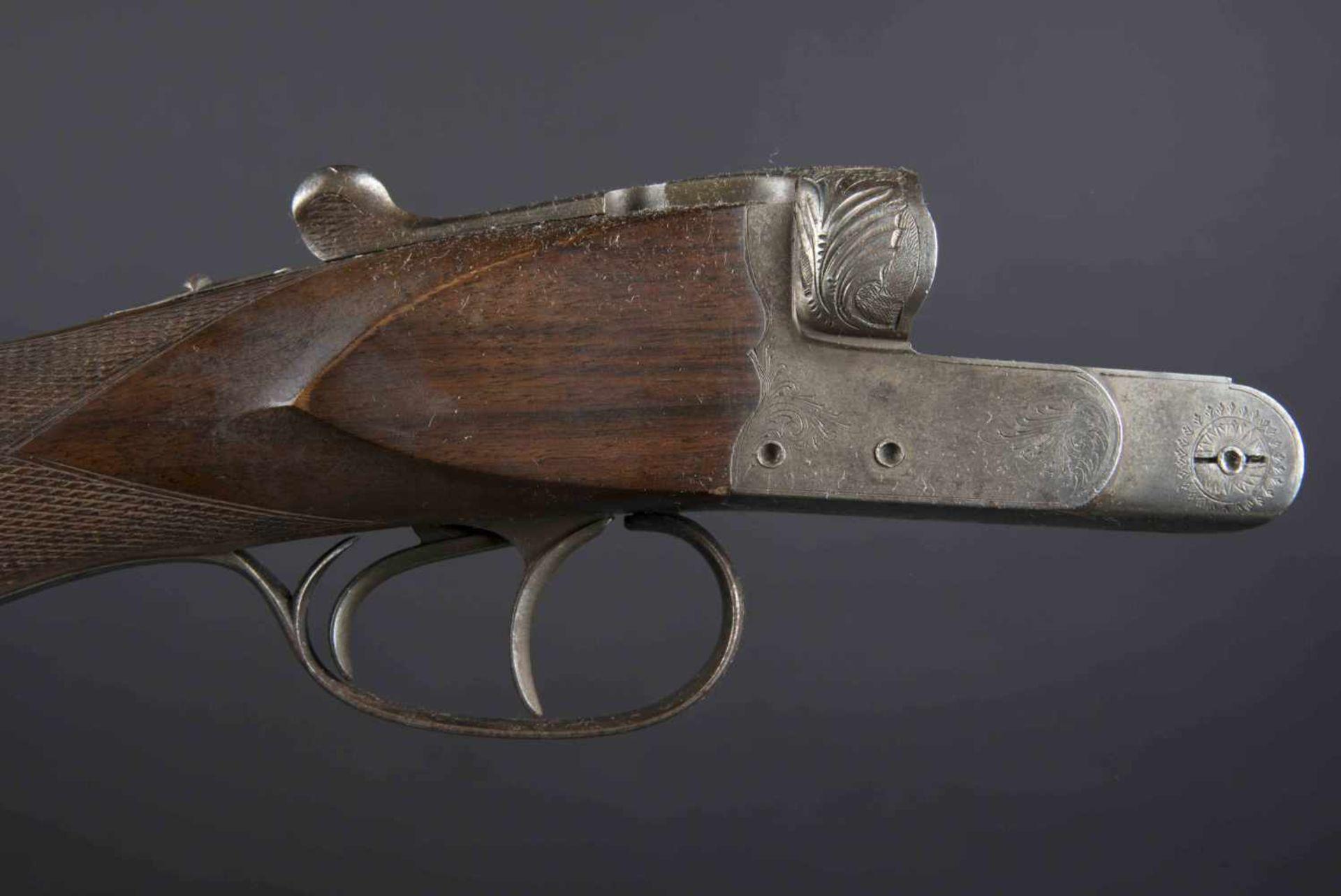 Fusil de chasse juxtaposé Robust Catégorie C Calibre 16/70, numéro 745236. En carton, jamais - Bild 2 aus 4