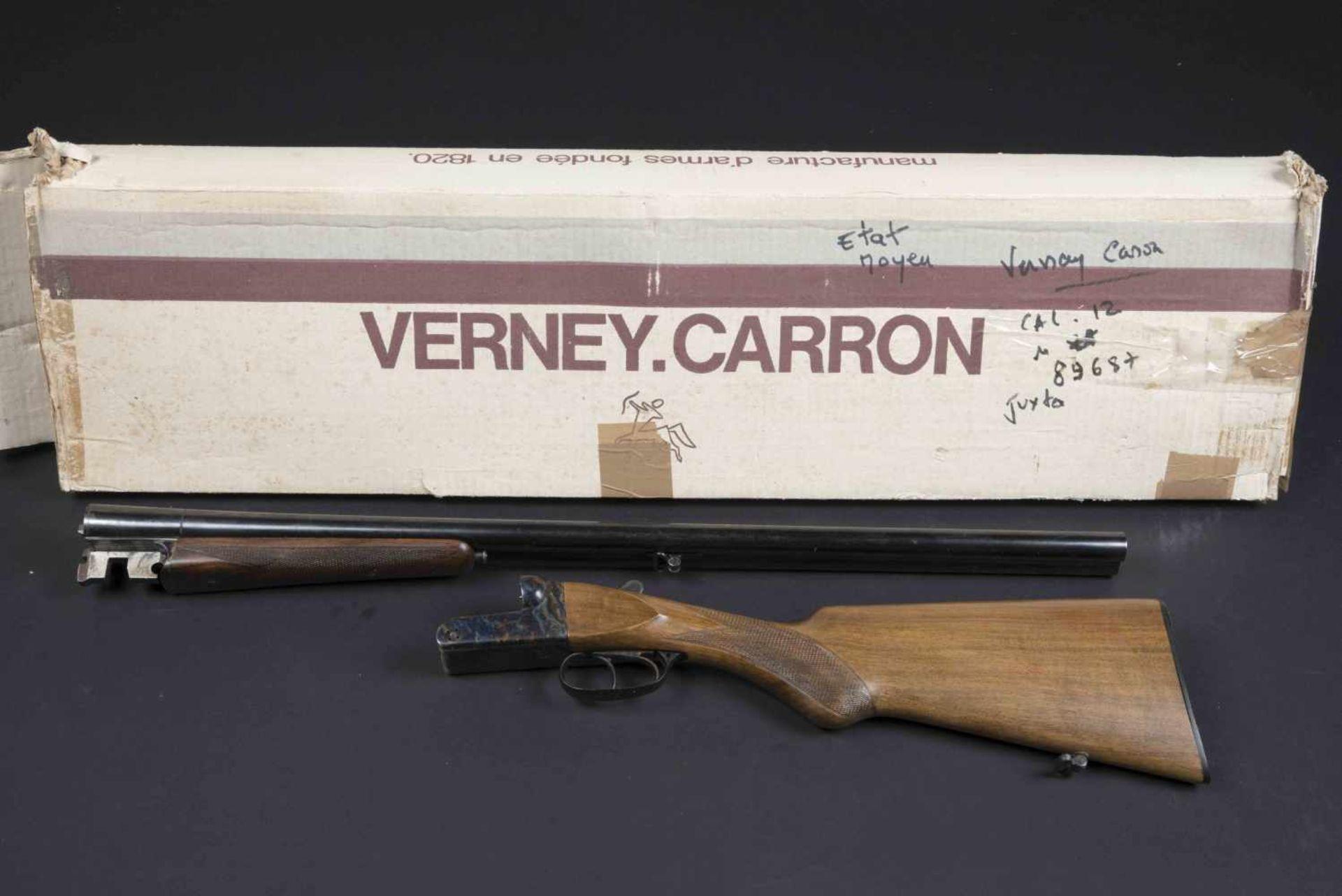 Fusil de chasse Verney Carron Catégorie C Modèle Pionnier, numéro 89687. Canon Verney Carron.