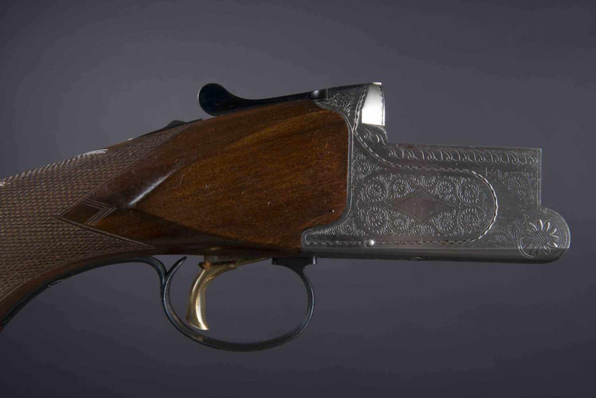 Fusil juxtaposé Nikko 5000 Catégorie C Calibre 12, numéro K63518. Carton non au modèle de l'arme. - Bild 2 aus 3
