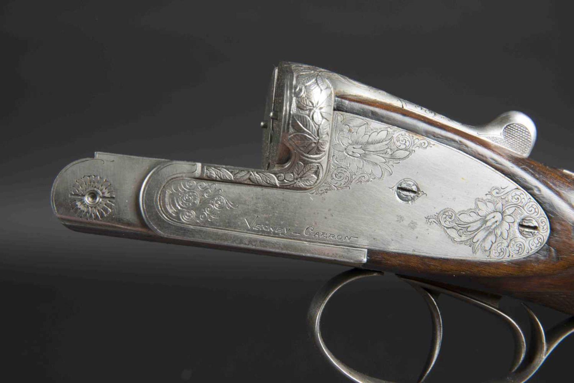 Fusil de chasse Verney Carron Catégorie C Parties métalliques ciselées. Verney Carron Helicobloc. - Bild 4 aus 4