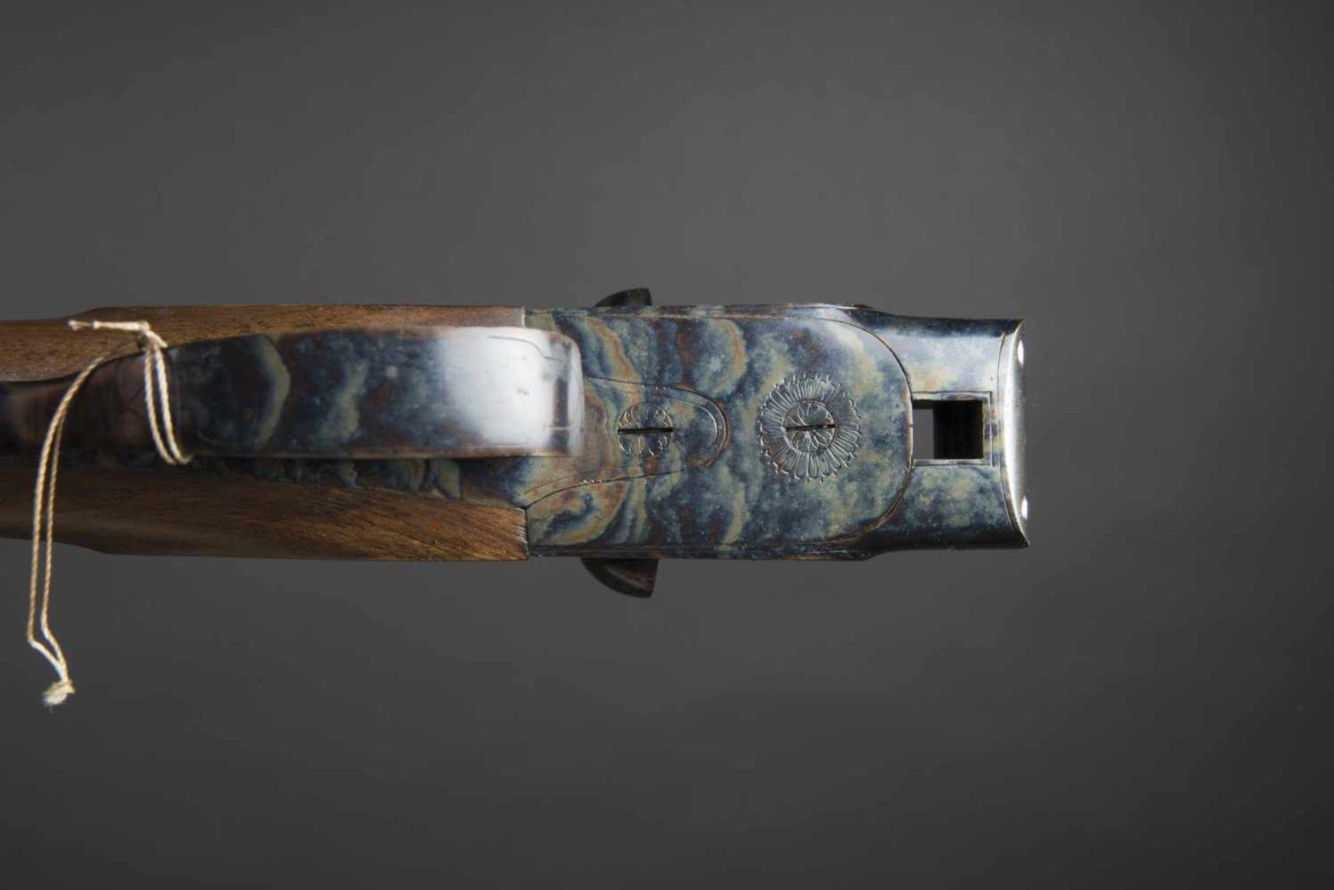 Fusil juxtaposé Paris Sport Catégorie C Calibre 16, numéro 146486. Carton non au modèle de l'arme. - Bild 4 aus 4