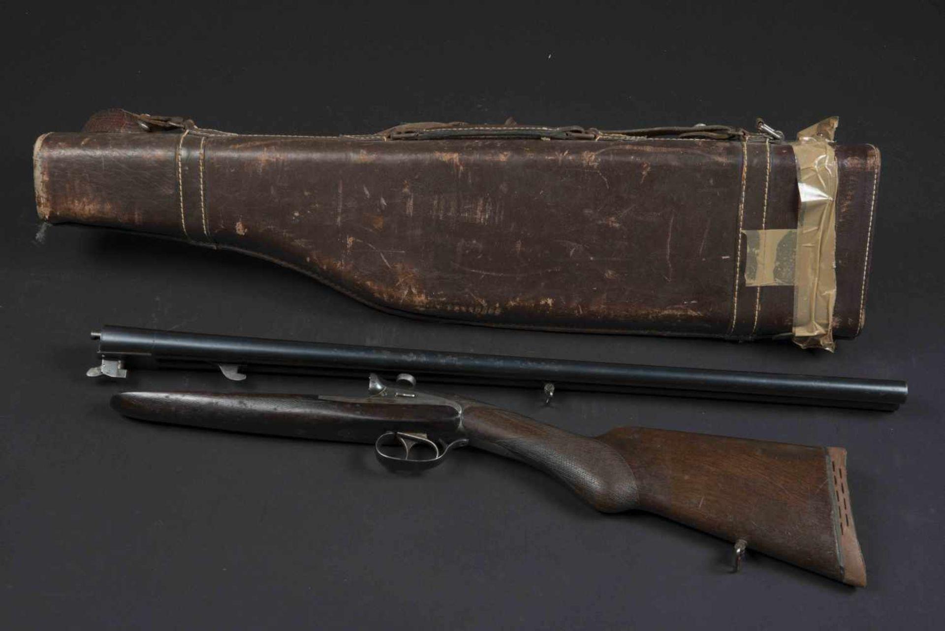 Fusil de chasse Darne Catégorie C Darne type 10, plaque de couche en caoutchouc, numéro E 187.