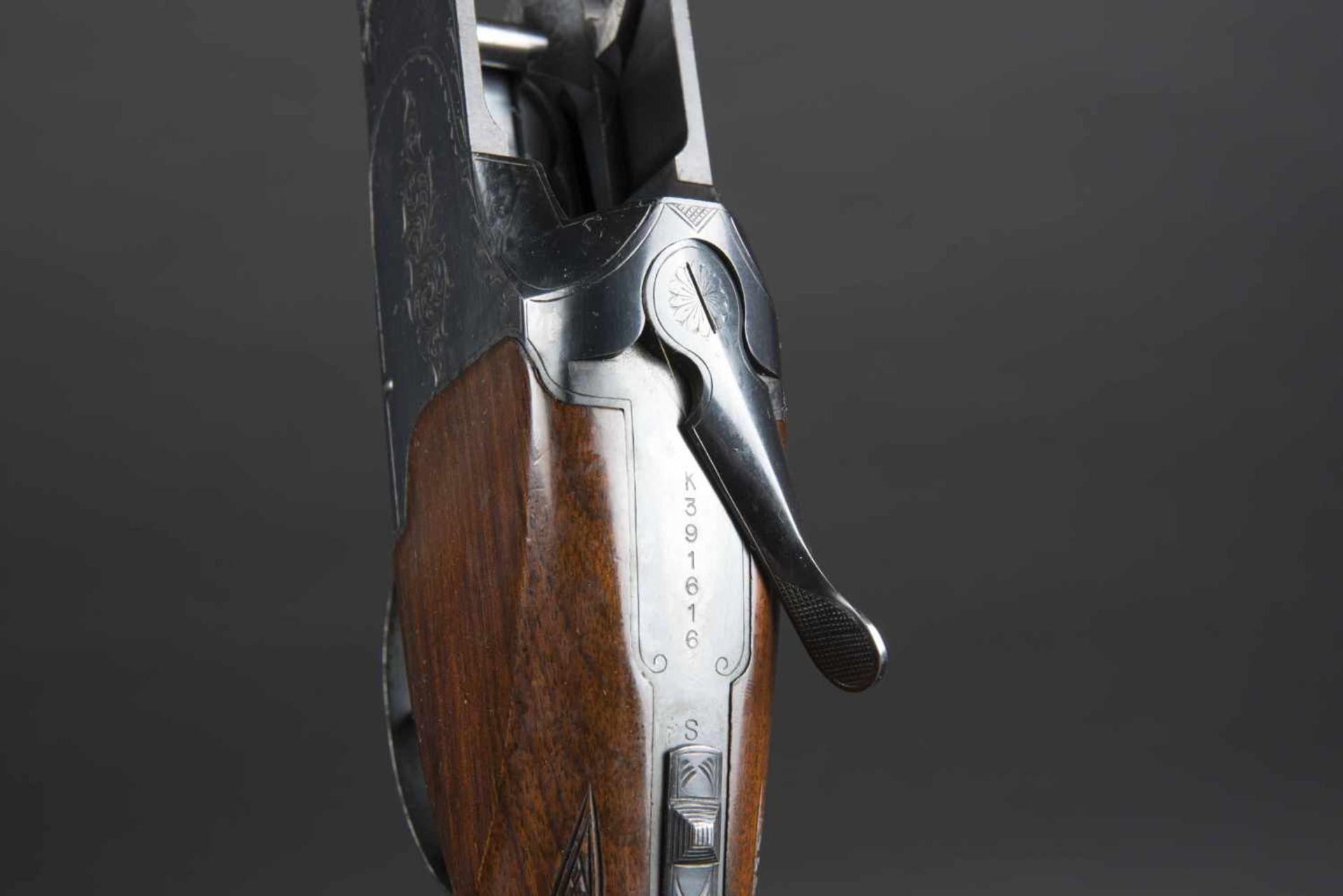 Fusil superposé Winchester Mod 40, catégorie C Calibre 12/70, numéro 391616. Certificat du Banc d' - Bild 2 aus 4